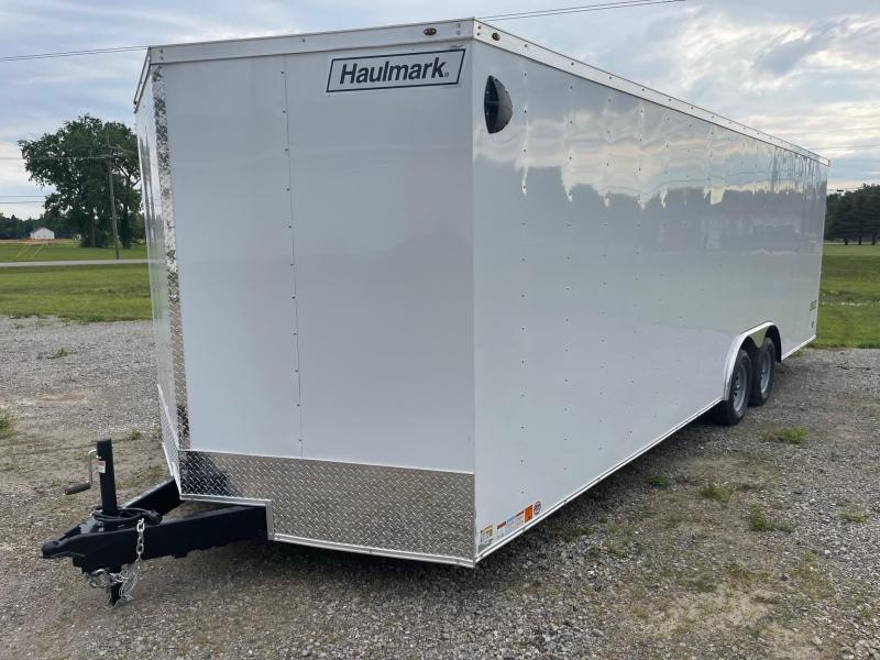 8.5x24 HAULMARK PASSPORT Enclosed Car Hauler Trailer (7K)