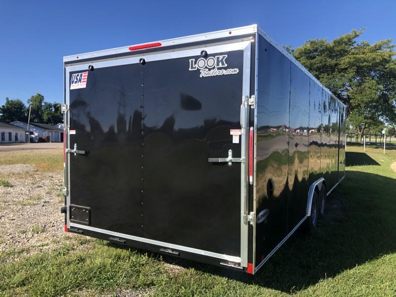 8.5x28 LOOK Enclosed Car Hauler Trailer (10K)