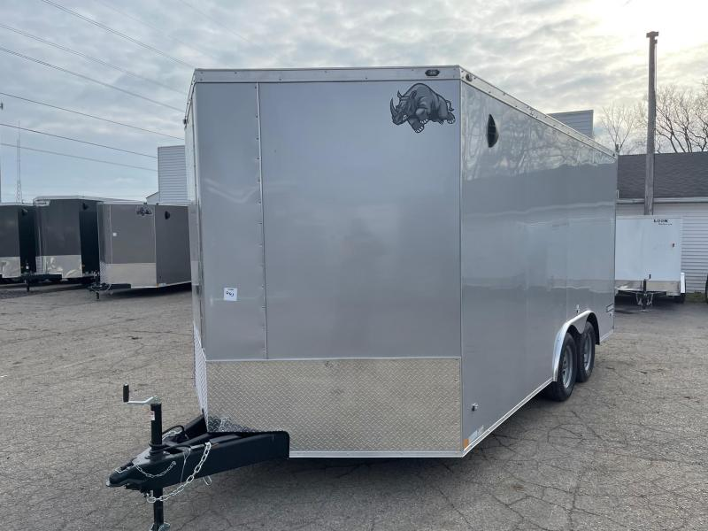 2021 Rhino 8.5 x 16 7 K Enclosed Cargo Trailer