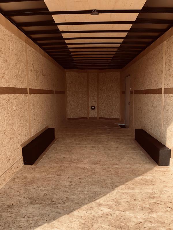 2021 8.5 x 24 Haulmark TRANSPORT 10K Enclosed Cargo Trailer Extra Height