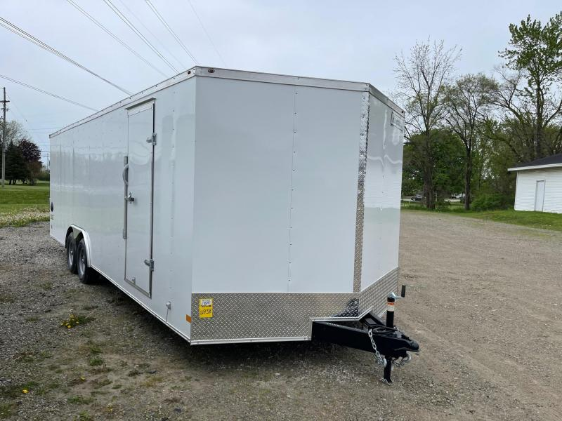 8.5x24 HAULMARK PASSPORT Enclosed Car Hauler Trailer (10K)