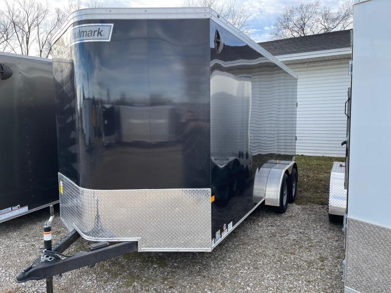 7 x 16  Haulmark Transport - Enclosed Trailer - w/ Ramp Door   7ft Interior UTV Package