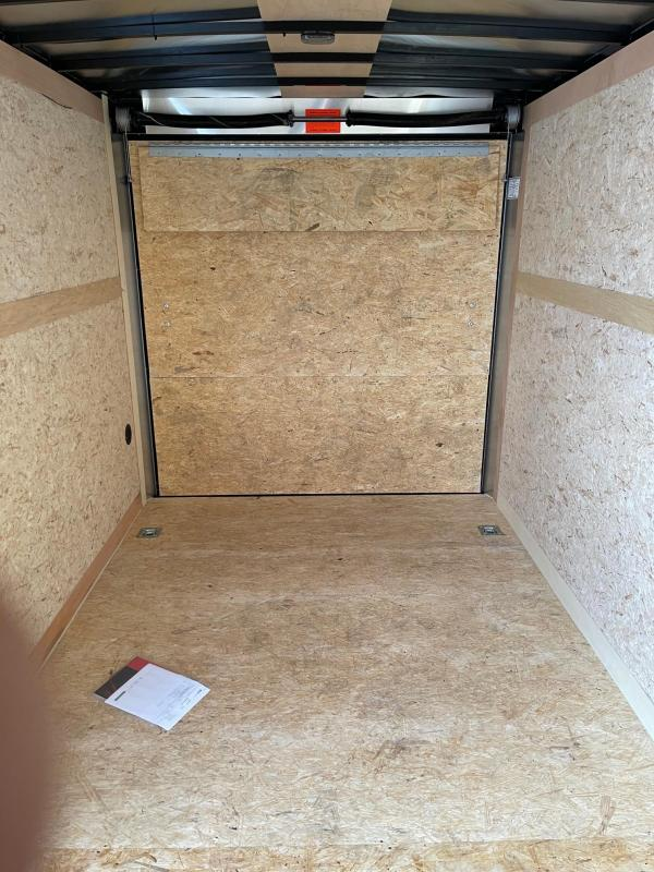 7 x 16  Haulmark Transport - Enclosed Trailer - w/ Ramp Door   7ft Interior UTV Package
