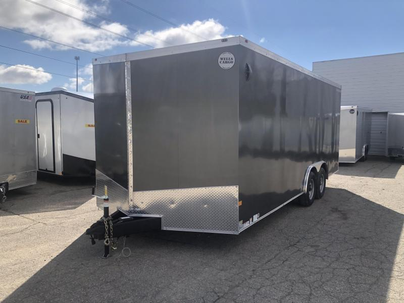 2020 Wells Cargo 8.5 x 20 10K Enclosed Cargo Trailer DEFECT