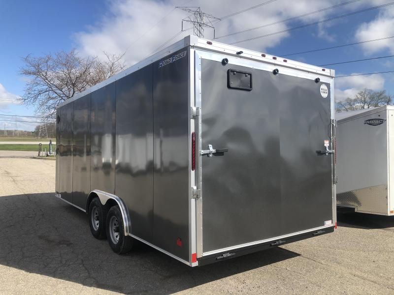 2020 Wells Cargo 8.5 x 20 10K Enclosed Cargo Trailer