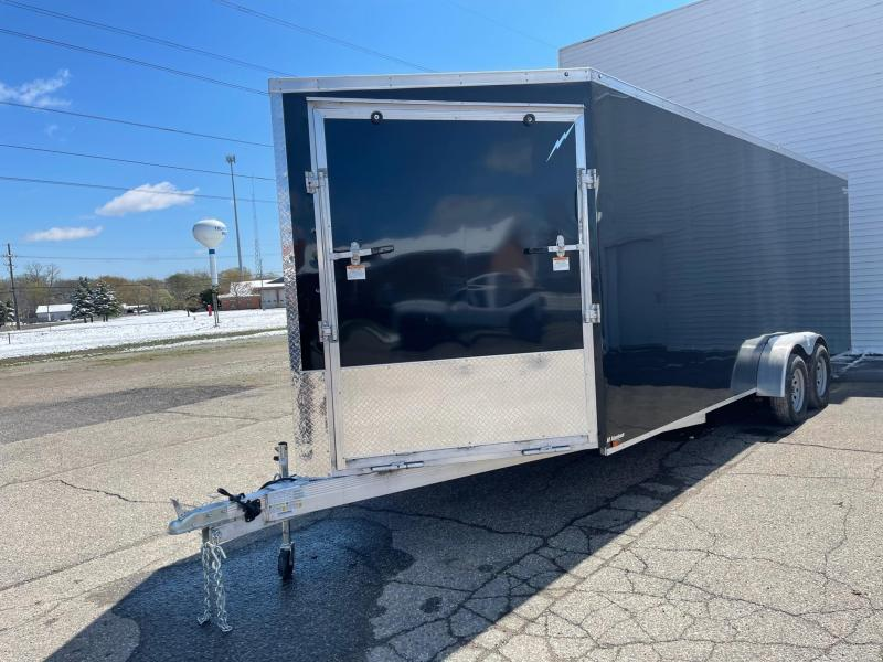 7x27ft 4-place Snow Trailer -- All Aluminum