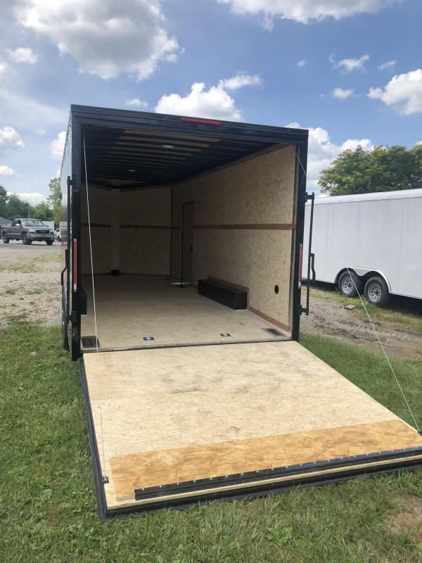 2021 Look Trailers 85 X 20 Element 10K Enclosed Trailer w/ Extra Height - BLACK OUT UPGRADE