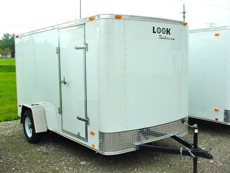 6x10 LOOK Enclosed Trailer w/ Barn Doors (Single)