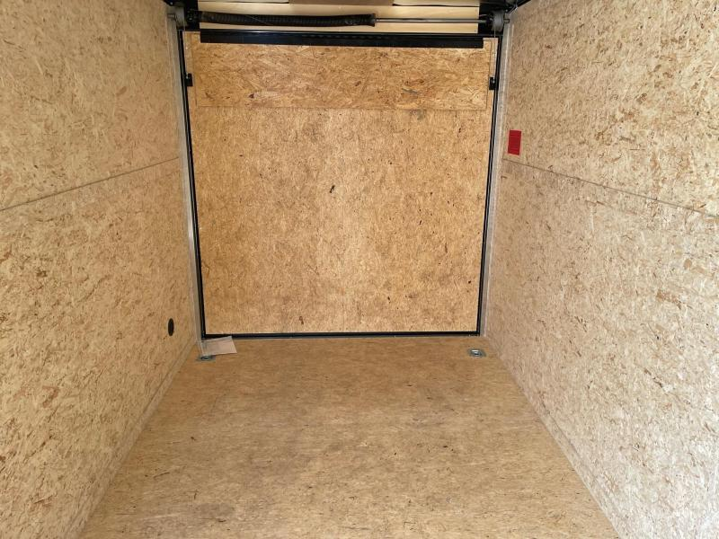 7 x 16  Rhino Safari - Enclosed Trailer - w/ Ramp Door BLACK OUT  7ft Interior UTV Package