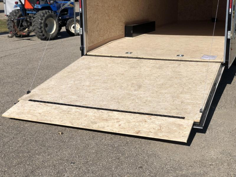 2021 Look 8.5 x 24 10K Enclosed Cargo Trailer W EXTRA HEIGHT