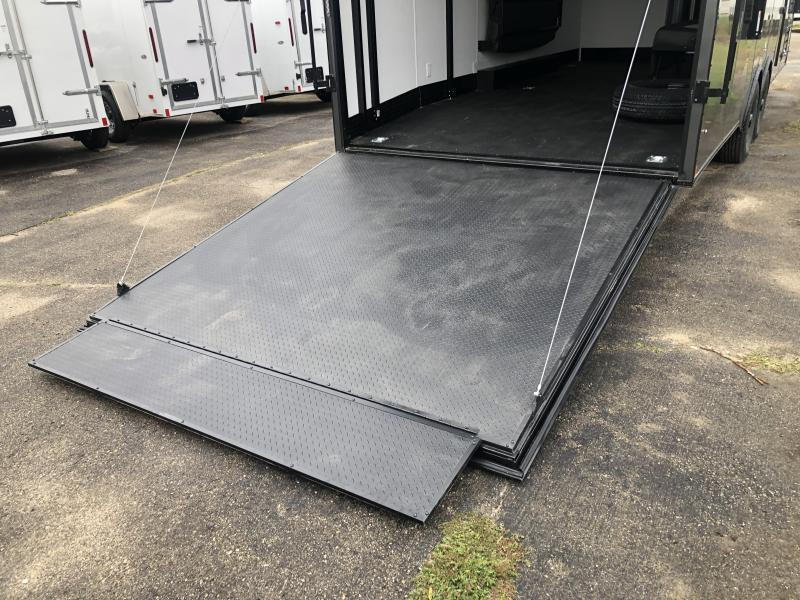 Toy Hauler w/ Living Quarters: 8.5 x 22 STEALTH NOMAD 10K Enclosed Car Trailer