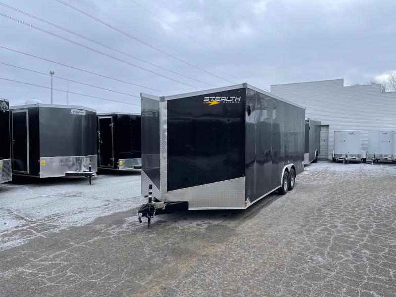 2022 Stealth Mustang  8.5 x 20 7 K Enclosed Cargo Trailer with Extra Height