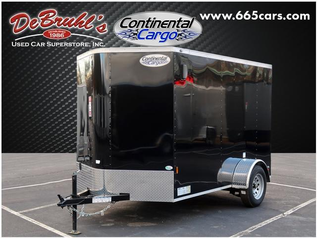 2020 Continental Cargo 6X10 Single Axle Enclosed Cargo Trailer