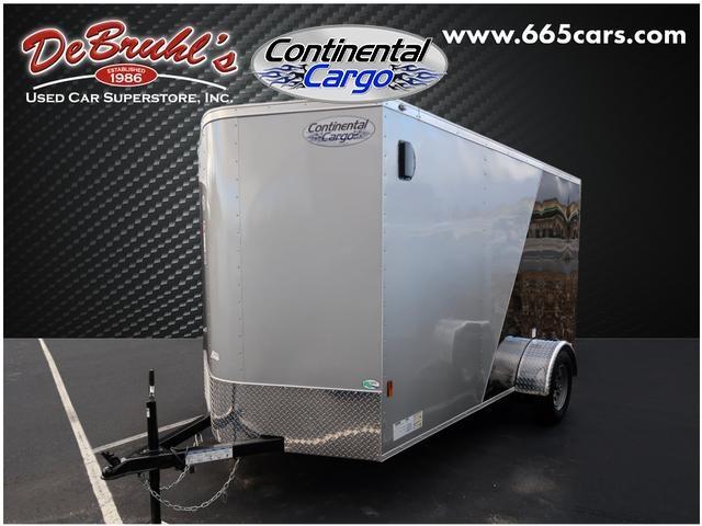 2020 Continental Cargo CC6X12SA Enclosed Cargo Trailer