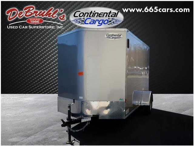 2020 Continental Cargo 6X12 Single Axle Enclosed Cargo Trailer