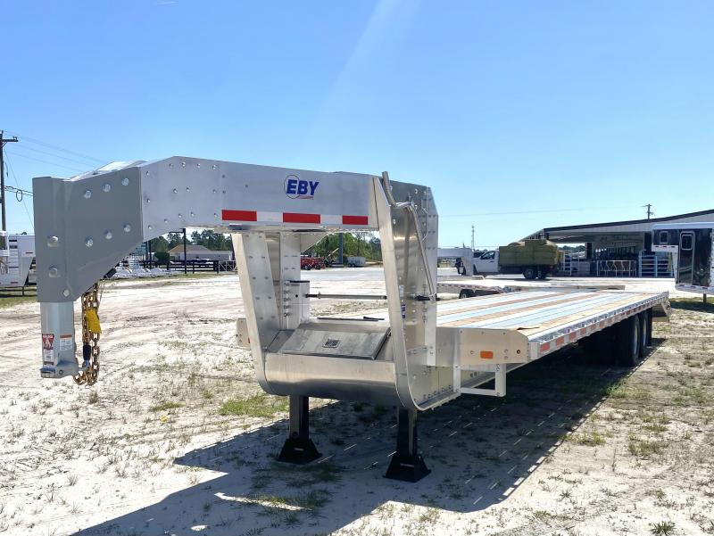 2021 EBY 35' Gooseneck Equipment Trailer
