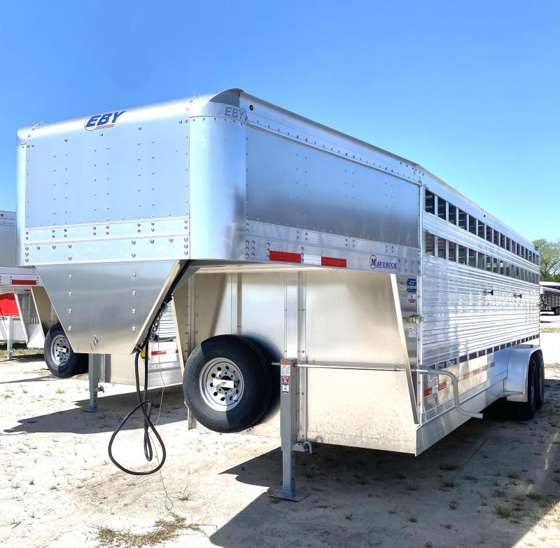 2022 EBY Livestock Trailer