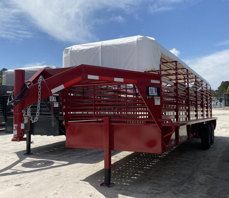 2020 Stoll Trailers Inc. Livestock Trailer