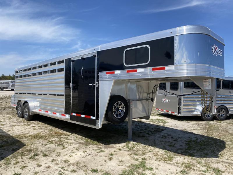 2021 Exiss STC 7024 Livestock Trailer