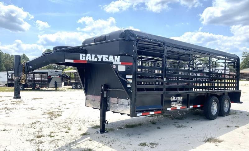 2021 Galyean Livestock Trailer