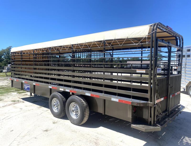 2021 Gooseneck Livestock Trailer