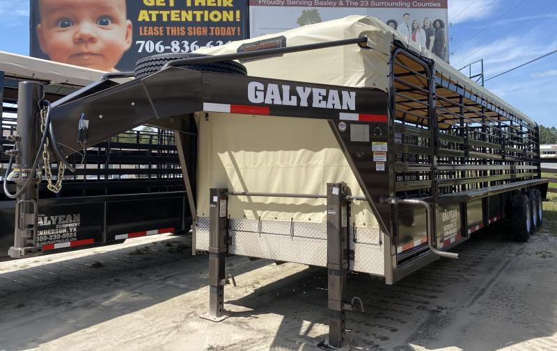 2021 Galyean LP Livestock Trailer