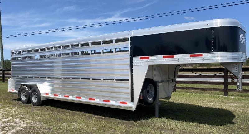 2021 Exiss STK 7024 Livestock Trailer