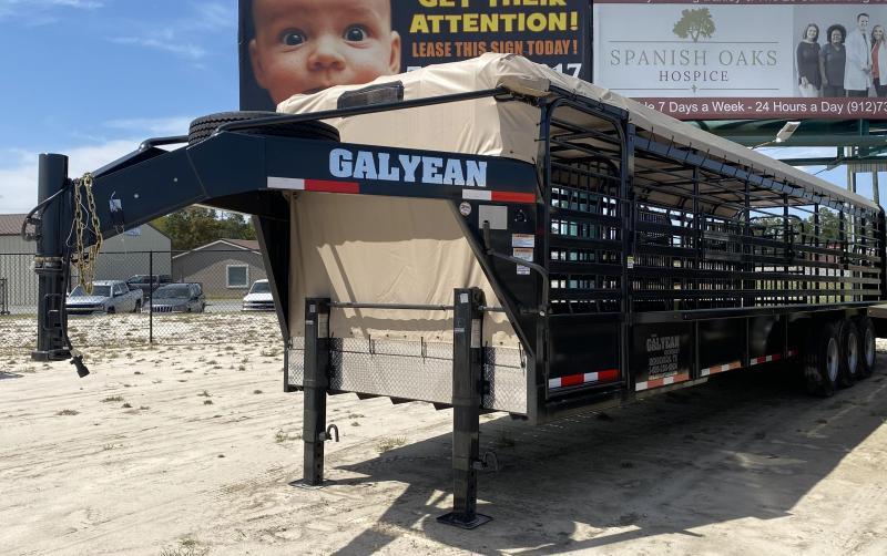2021 Galyean LP Trailer Livestock Trailer