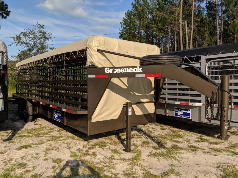 2019 Gooseneck 19 - 24X6.8 Livestock Trailer