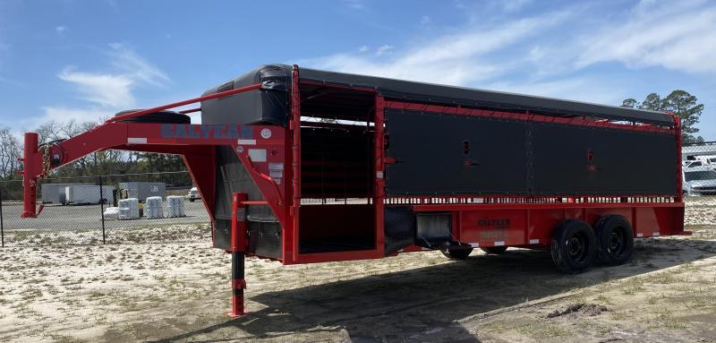 2021 Galyean Trailers Livestock Trailer