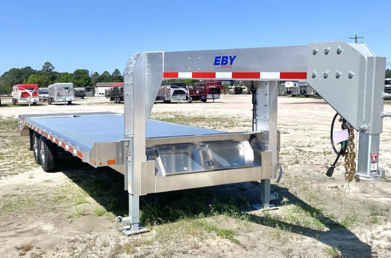 "2021 EBY 24'6"" Gooseneck Equipment Trailer"