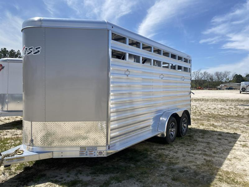 2021 Exiss Express 3H BP Livestock Trailer