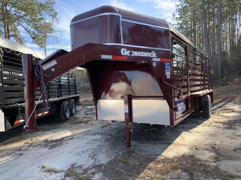2018 Gooseneck Livestock Trailer