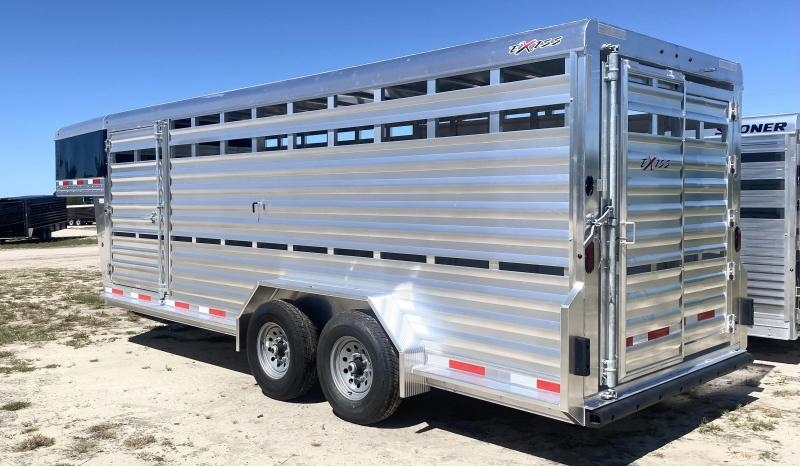 2022 Exiss Livestock Trailer