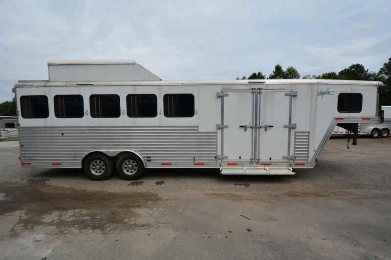 2017 Merhow  5-Horse Trainers Trailer