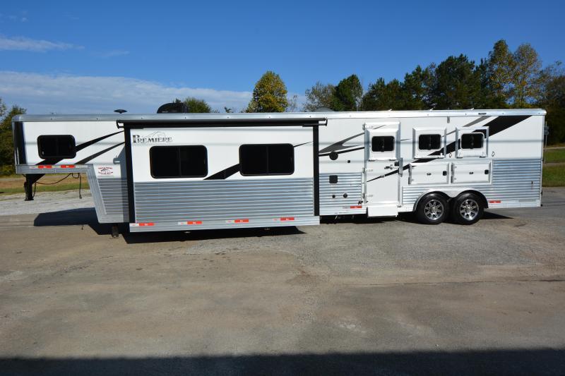 2017 Bison 8317 3-Horse 17' LQ