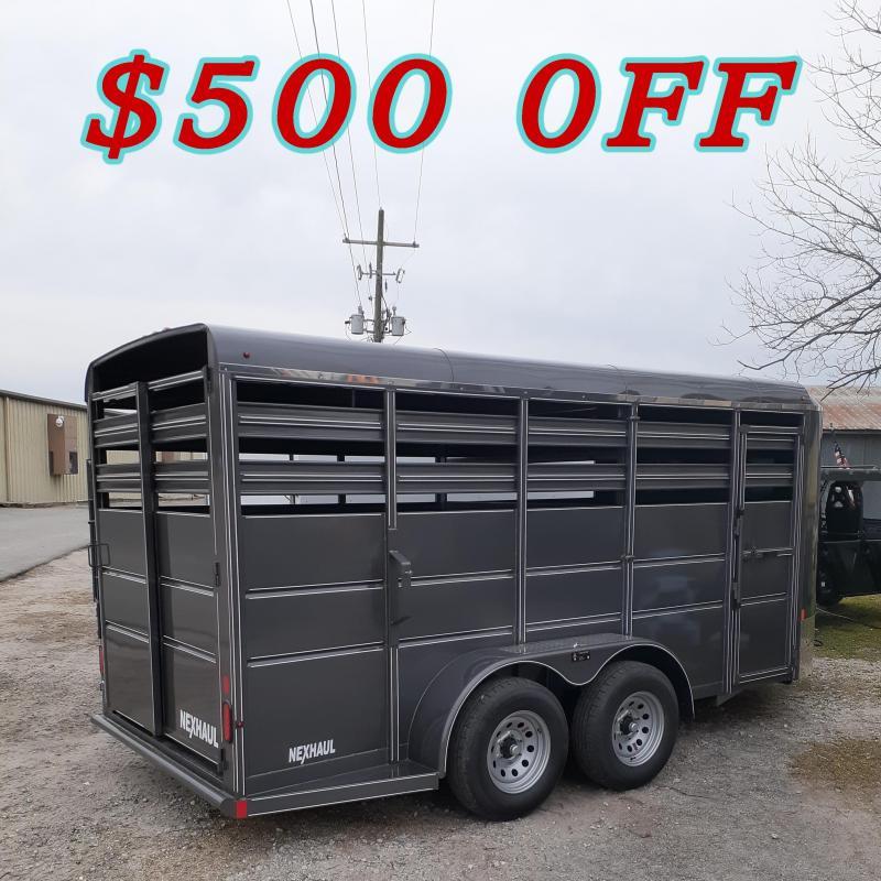 2020 Nexhaul 16 FT Livestock Trailer