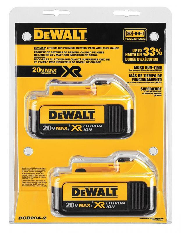 DeWalt 20v Battery 2 pack