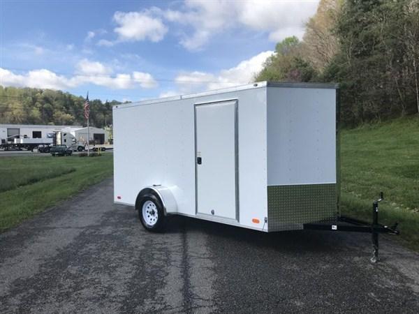 2020 Nexhaul  6 x 12 Single Axle Enclosed