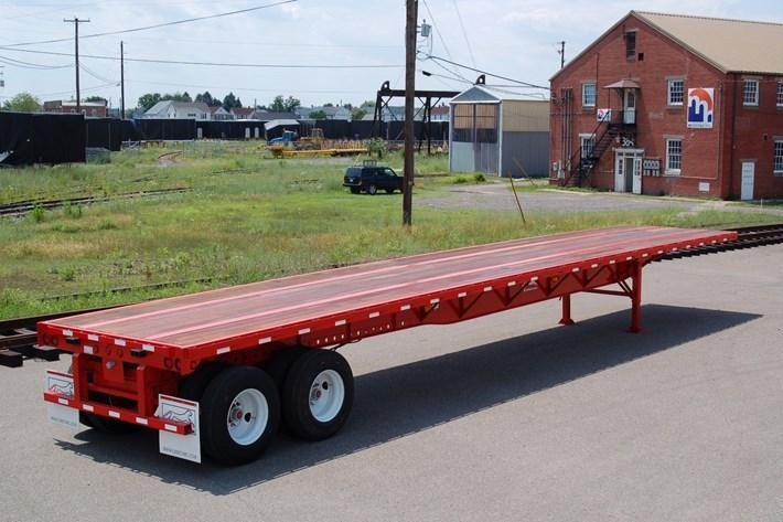 2019  Evans 48ft Steel flat Flat Bed