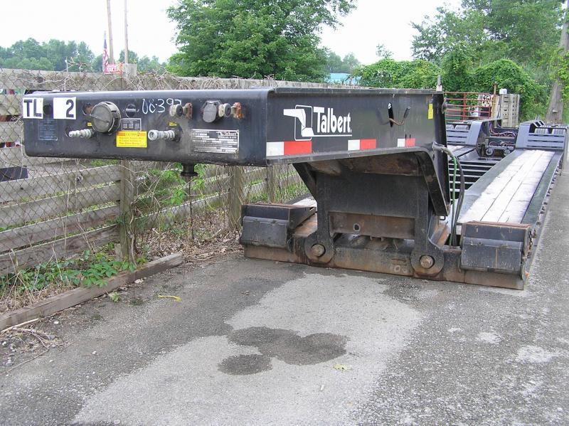 2008 Talbert 55 ton Low Boy