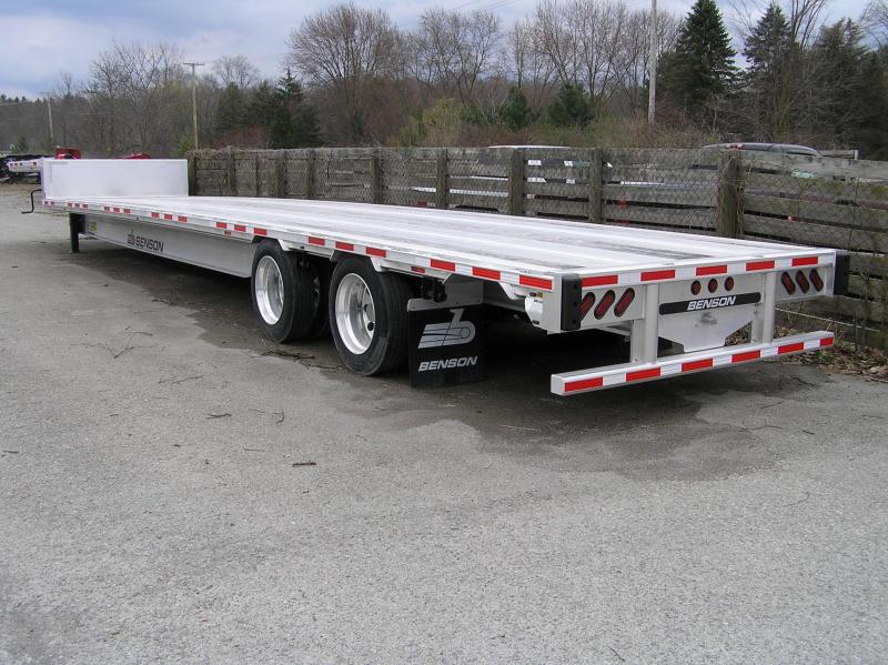 2016 Benson dropdeck Flat Bed