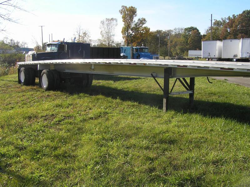 2009 Trailstar flat 48ft trailer aluminum Flat Bed