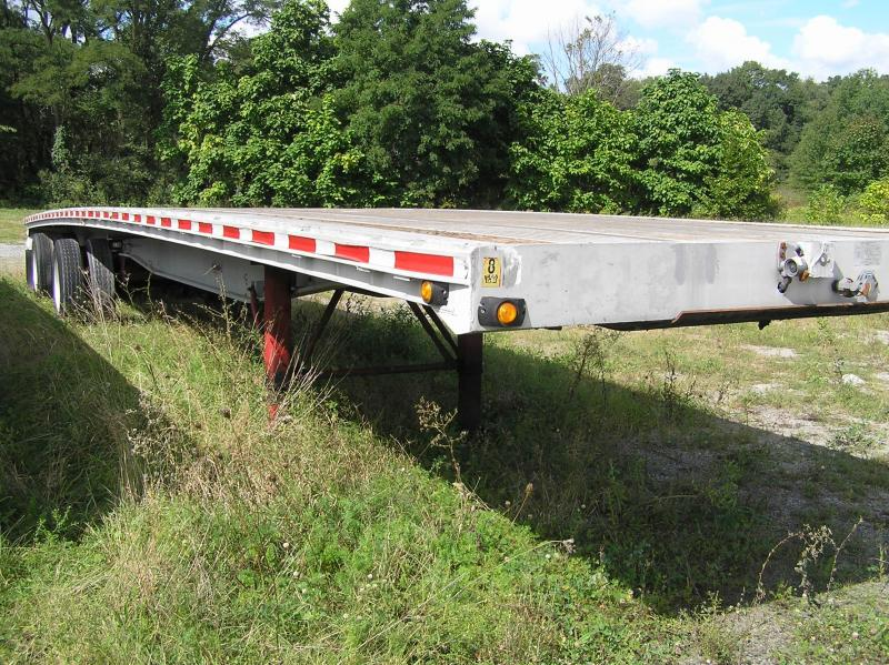 1997 Ravens 48ft aluminum Flat Bed