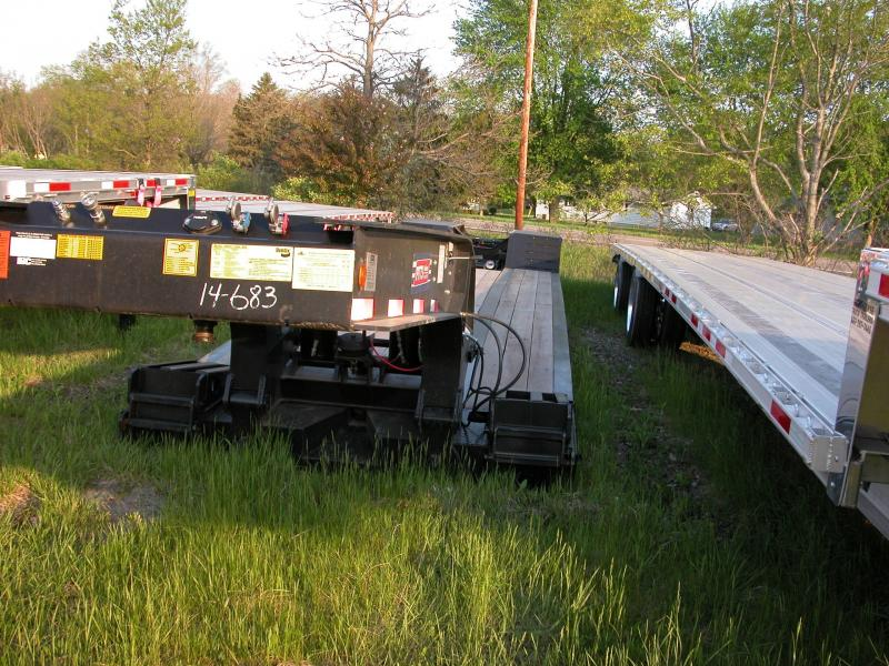 2015 Pitts Lowboy 35 ton trailer