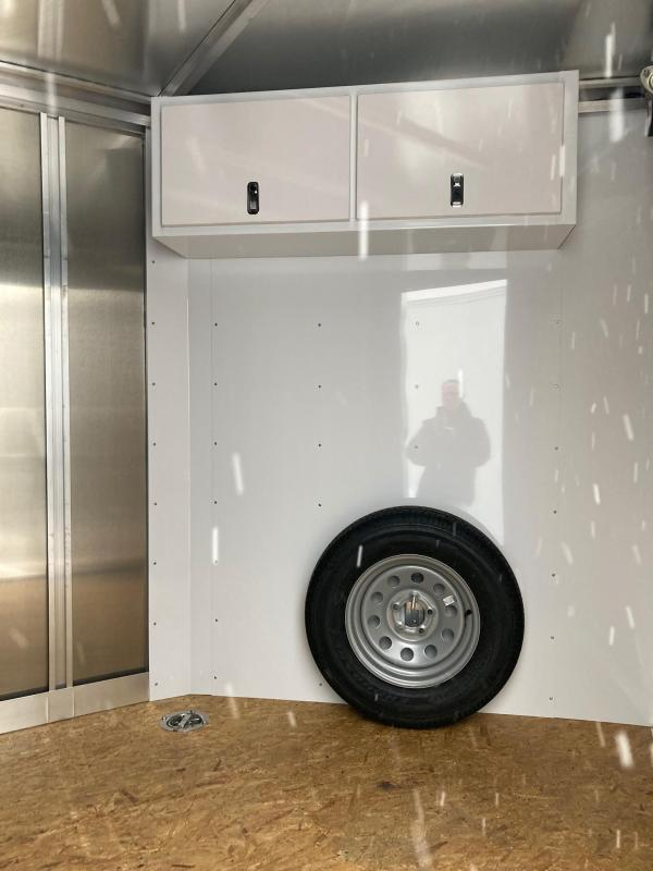 2021 Featherlite Aluminum Snowmobile Trailer