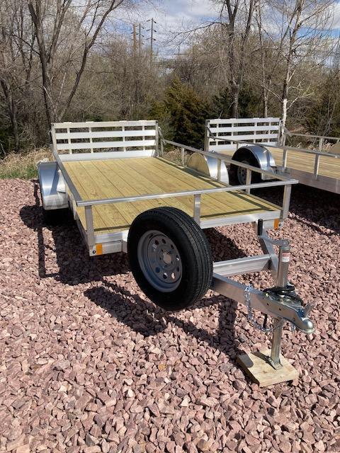 2021 Mission 6'x12' Aluminum Open ATV/UTV Trailer