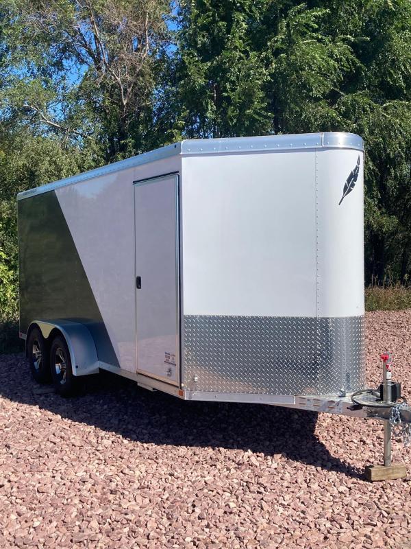 2021 Featherlite 1610 Enclosed Cargo Trailer