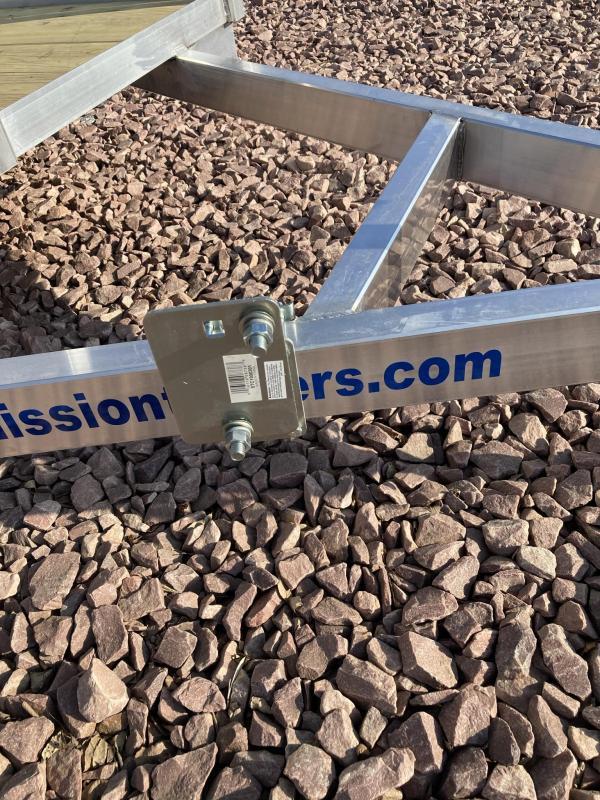 2021 Mission 6'x14' Open ATV / UTV Aluminum Trailer