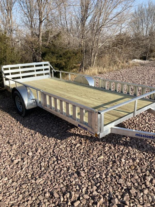 2021 Mission 6'x14' Open ATV / UTV Aluminum Trailer